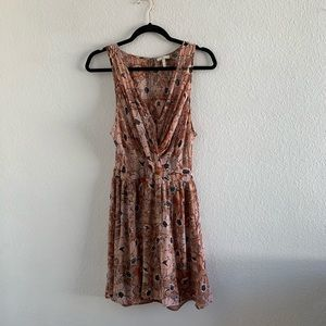 Joie Floral Sheer Dress